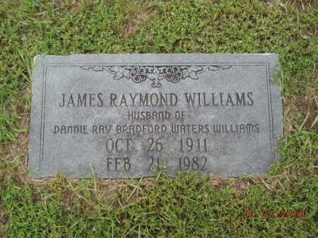 WILLIAMS, JAMES RAYMOND - Webster County, Louisiana   JAMES RAYMOND WILLIAMS - Louisiana Gravestone Photos