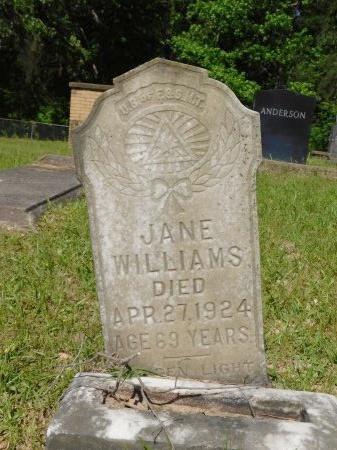 WILLIAMS, JANE - Webster County, Louisiana | JANE WILLIAMS - Louisiana Gravestone Photos