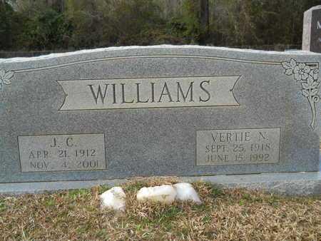 WILLIAMS, VERTIE N - Webster County, Louisiana | VERTIE N WILLIAMS - Louisiana Gravestone Photos