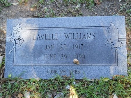 WILLIAMS, LAVELLE - Webster County, Louisiana   LAVELLE WILLIAMS - Louisiana Gravestone Photos