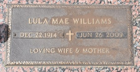 WILLIAMS, LULA MAE - Webster County, Louisiana | LULA MAE WILLIAMS - Louisiana Gravestone Photos