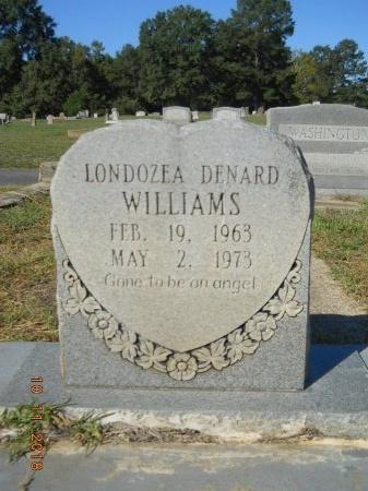 WILLIAMS, LONDOZEA - Webster County, Louisiana | LONDOZEA WILLIAMS - Louisiana Gravestone Photos