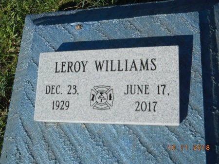 WILLIAMS, LEROY - Webster County, Louisiana   LEROY WILLIAMS - Louisiana Gravestone Photos