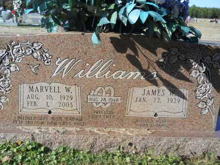 WILLIAMS, MARVELL W - Webster County, Louisiana | MARVELL W WILLIAMS - Louisiana Gravestone Photos