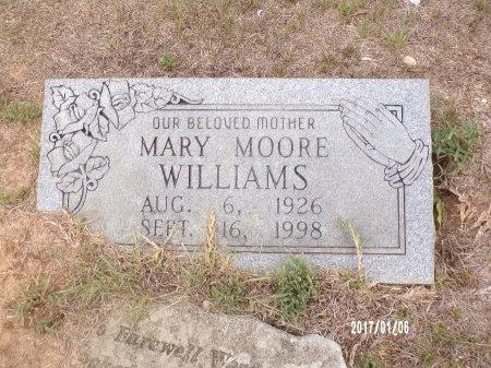 WILLIAMS, MARY  - Webster County, Louisiana   MARY  WILLIAMS - Louisiana Gravestone Photos