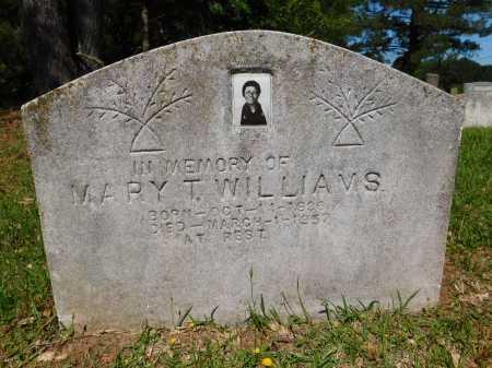 WILLIAMS, MARY T - Webster County, Louisiana   MARY T WILLIAMS - Louisiana Gravestone Photos