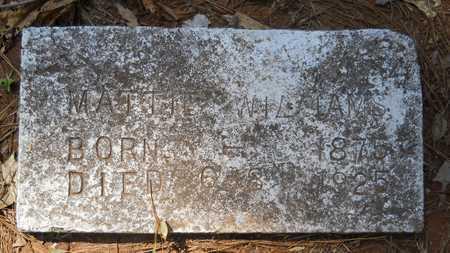 WILLIAMS, MATTIE - Webster County, Louisiana   MATTIE WILLIAMS - Louisiana Gravestone Photos