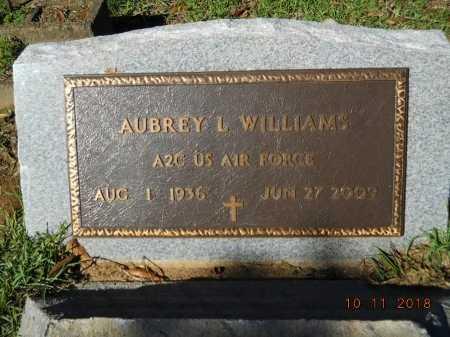 WILLIAMS , AUBREY L (VETERAN) - Webster County, Louisiana | AUBREY L (VETERAN) WILLIAMS  - Louisiana Gravestone Photos