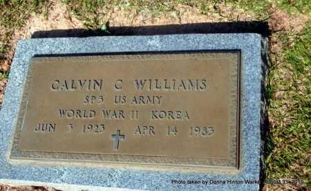 WILLIAMS, CALVIN C (VETERAN 2 WARS) - Webster County, Louisiana | CALVIN C (VETERAN 2 WARS) WILLIAMS - Louisiana Gravestone Photos
