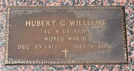 WILLIAMS , HUBERT GILBERT (VETERAN WWII) - Webster County, Louisiana   HUBERT GILBERT (VETERAN WWII) WILLIAMS  - Louisiana Gravestone Photos
