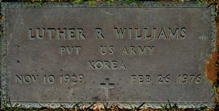 WILLIAMS, LUTHER R (VETERAN KOR) - Webster County, Louisiana   LUTHER R (VETERAN KOR) WILLIAMS - Louisiana Gravestone Photos
