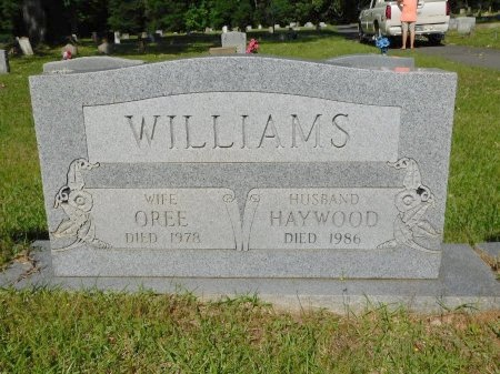 WILLIAMS, OREE - Webster County, Louisiana   OREE WILLIAMS - Louisiana Gravestone Photos