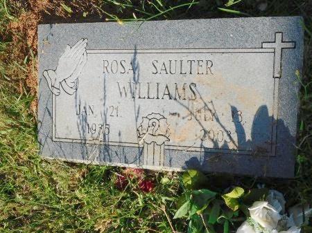 WILLIAMS, ROSA - Webster County, Louisiana   ROSA WILLIAMS - Louisiana Gravestone Photos