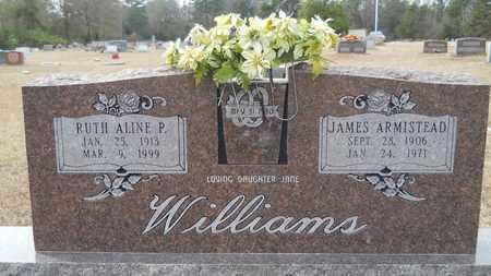 WILLIAMS, JAMES ARMISTEAD - Webster County, Louisiana   JAMES ARMISTEAD WILLIAMS - Louisiana Gravestone Photos