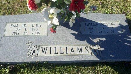 WILLIAMS, THELMA M - Webster County, Louisiana | THELMA M WILLIAMS - Louisiana Gravestone Photos