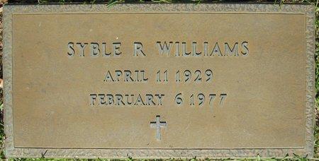 WILLIAMS, SYBLE R - Webster County, Louisiana   SYBLE R WILLIAMS - Louisiana Gravestone Photos