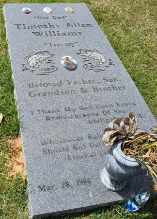 WILLIAMS, TIMOTHY ALLEN - Webster County, Louisiana | TIMOTHY ALLEN WILLIAMS - Louisiana Gravestone Photos