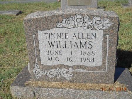 WILLIAMS, TINNIE  - Webster County, Louisiana   TINNIE  WILLIAMS - Louisiana Gravestone Photos