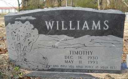 WILLIAMS, TIMOTHY - Webster County, Louisiana | TIMOTHY WILLIAMS - Louisiana Gravestone Photos