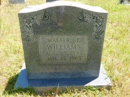 WILLIAMS, WALTER E - Webster County, Louisiana | WALTER E WILLIAMS - Louisiana Gravestone Photos