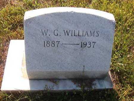 WILLIAMS, W G - Webster County, Louisiana   W G WILLIAMS - Louisiana Gravestone Photos