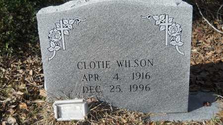 WILSON, CLOTIE - Webster County, Louisiana   CLOTIE WILSON - Louisiana Gravestone Photos