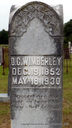 WIMBERLY, DEWITT C - Webster County, Louisiana | DEWITT C WIMBERLY - Louisiana Gravestone Photos