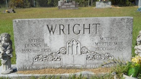 WRIGHT, MYRTLE MAE - Webster County, Louisiana | MYRTLE MAE WRIGHT - Louisiana Gravestone Photos