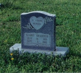 BRASFIELD, GLADYS - West Baton Rouge County, Louisiana   GLADYS BRASFIELD - Louisiana Gravestone Photos