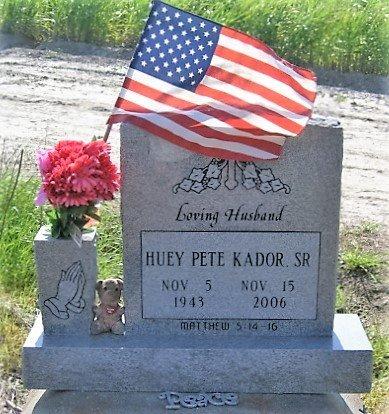 KADOR, HUEY PETE, SR - West Baton Rouge County, Louisiana   HUEY PETE, SR KADOR - Louisiana Gravestone Photos