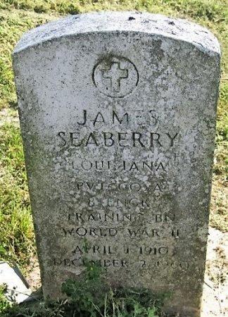 SEABERRY, JAMES  (VETERAN WWII) - West Baton Rouge County, Louisiana | JAMES  (VETERAN WWII) SEABERRY - Louisiana Gravestone Photos