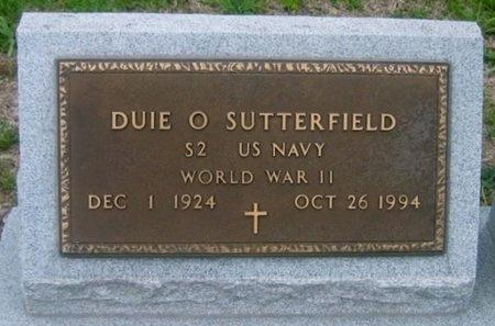 SUTTERFIELD, DUIE OVAL  (VETERAN WWII) - West Baton Rouge County, Louisiana   DUIE OVAL  (VETERAN WWII) SUTTERFIELD - Louisiana Gravestone Photos