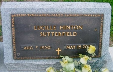 SUTTERFIELD, LUCILLE - West Baton Rouge County, Louisiana   LUCILLE SUTTERFIELD - Louisiana Gravestone Photos