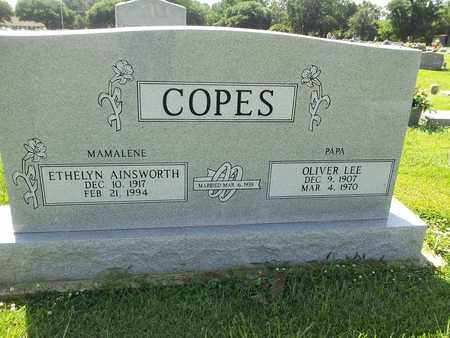 COPES, OLIVER LEE - West Carroll County, Louisiana | OLIVER LEE COPES - Louisiana Gravestone Photos