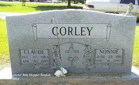 CORLEY, CLAUDE - West Carroll County, Louisiana | CLAUDE CORLEY - Louisiana Gravestone Photos