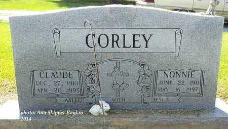 CORLEY, CLAUDE - West Carroll County, Louisiana   CLAUDE CORLEY - Louisiana Gravestone Photos