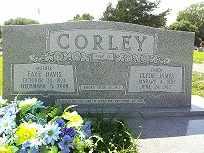 DAVIS CORLEY, FAYE - West Carroll County, Louisiana   FAYE DAVIS CORLEY - Louisiana Gravestone Photos