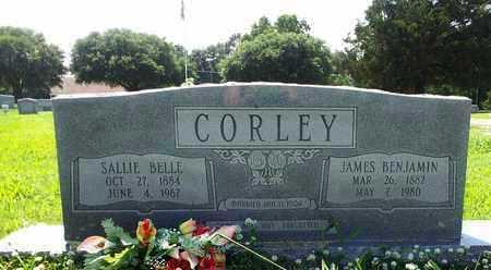CORLEY, JAMES BENJAMIN - West Carroll County, Louisiana | JAMES BENJAMIN CORLEY - Louisiana Gravestone Photos