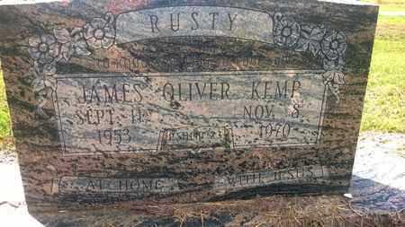 "KEMP, JAMES OLIVER ""RUSTY"" - West Carroll County, Louisiana   JAMES OLIVER ""RUSTY"" KEMP - Louisiana Gravestone Photos"