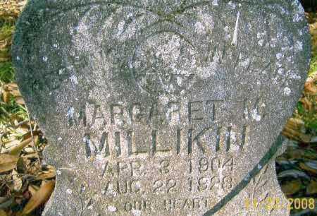 MILLIKIN, MARGARET M - West Carroll County, Louisiana | MARGARET M MILLIKIN - Louisiana Gravestone Photos