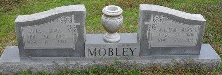 MOBLEY, ZULA ERMA - West Carroll County, Louisiana | ZULA ERMA MOBLEY - Louisiana Gravestone Photos