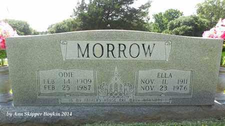 MORROW, ODIE - West Carroll County, Louisiana | ODIE MORROW - Louisiana Gravestone Photos
