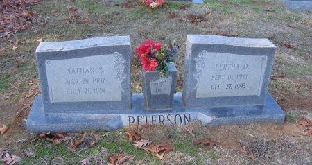 NELSON PETERSON, BERTHA OLIVIA - West Carroll County, Louisiana | BERTHA OLIVIA NELSON PETERSON - Louisiana Gravestone Photos