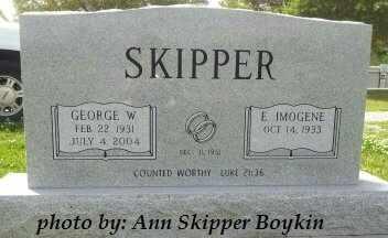 SKIPPER, EFFIE IMOGENE - West Carroll County, Louisiana | EFFIE IMOGENE SKIPPER - Louisiana Gravestone Photos