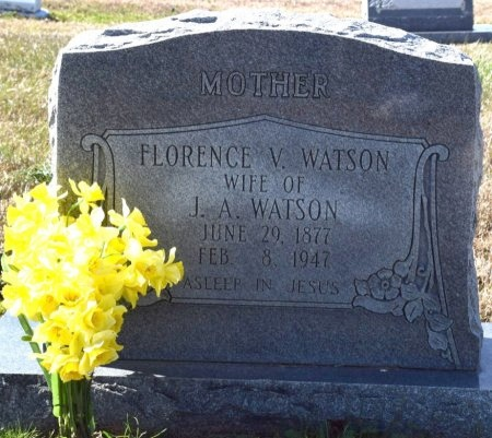WATSON, FLORENCE V - West Carroll County, Louisiana | FLORENCE V WATSON - Louisiana Gravestone Photos