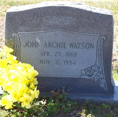 WATSON, JOHN ARCHIE - West Carroll County, Louisiana | JOHN ARCHIE WATSON - Louisiana Gravestone Photos
