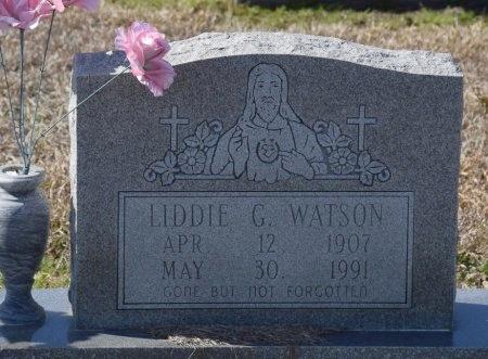 WATSON, LIDDIE G - West Carroll County, Louisiana | LIDDIE G WATSON - Louisiana Gravestone Photos