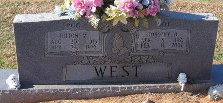 "WEST, HILTON V ""PUG"" - West Carroll County, Louisiana   HILTON V ""PUG"" WEST - Louisiana Gravestone Photos"