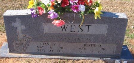 WEST, BERTIE O - West Carroll County, Louisiana   BERTIE O WEST - Louisiana Gravestone Photos