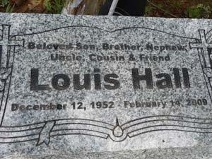 HALL, LOUIS - West Feliciana County, Louisiana   LOUIS HALL - Louisiana Gravestone Photos